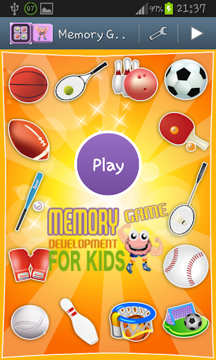 Memory Game - Sports