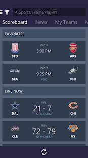 MSN Sports - Scores & Schedule- screenshot thumbnail