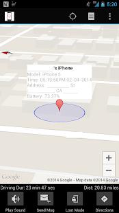 Find My iPhone free via icloud - screenshot thumbnail