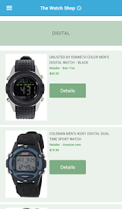 Watch Shop screenshot 0