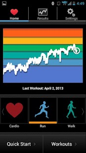 iCardio GPS Heart Rate Trainer- screenshot thumbnail