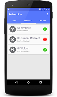 Redirect File Organizer- screenshot thumbnail