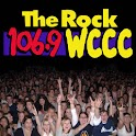 The Rock 106.9, WCCC logo