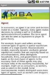 My MBA Economics