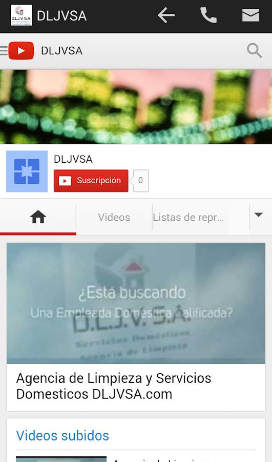 Dljvsa agencia de limpieza android apps on google play - Agencias de limpieza barcelona ...