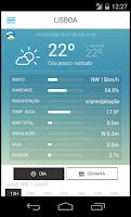 Screenshot of Meteo@IPMA