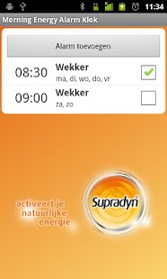 Supradyn Morning Energ Alarm C - screenshot thumbnail