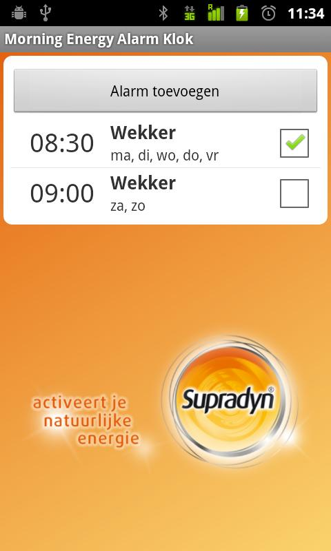Supradyn Morning Energ Alarm C - screenshot