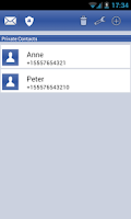 Screenshot of Secret Sms