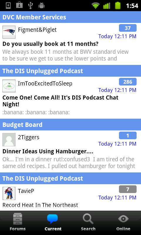 DISBoards Mobile - screenshot
