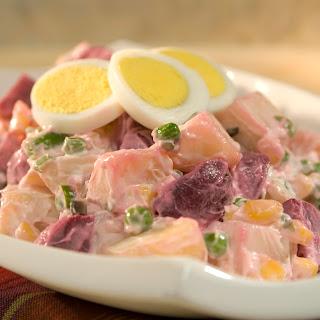 Potato Beet Salad.