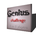 Genius Trivia 1 to 8 player icon