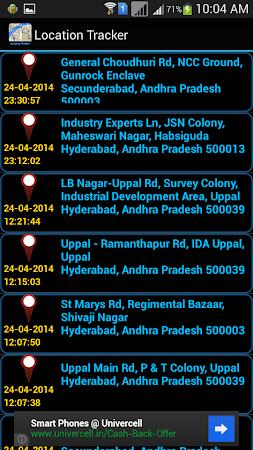 Mobile Location Tracker 3.3.0 screenshot 10156