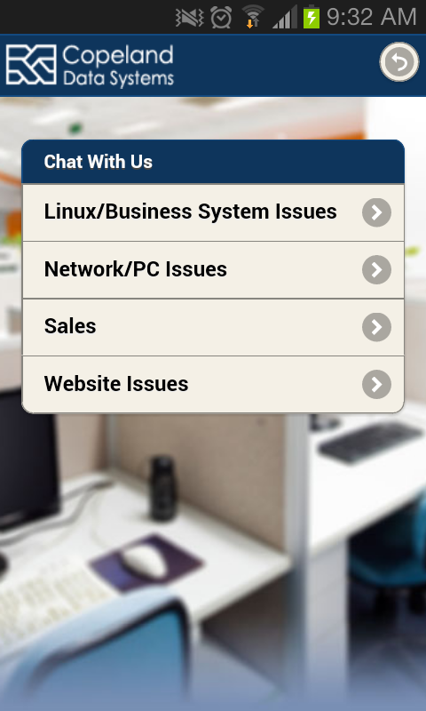 CDS Mobile Connect- screenshot