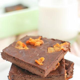 Paleo Mocha-Bacon Brownies