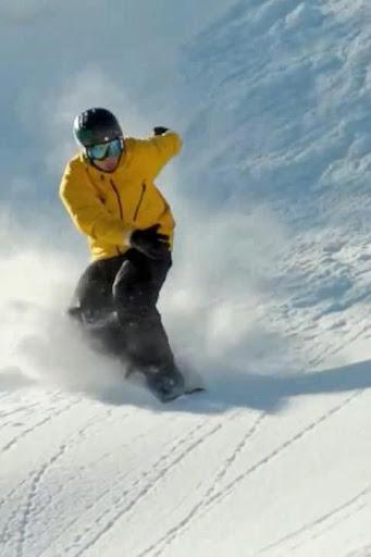 Snowboard Winter Live Wallpap