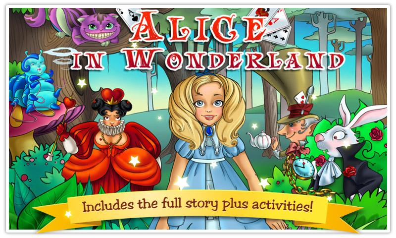 Alice in Wonderland Kids Book- screenshot