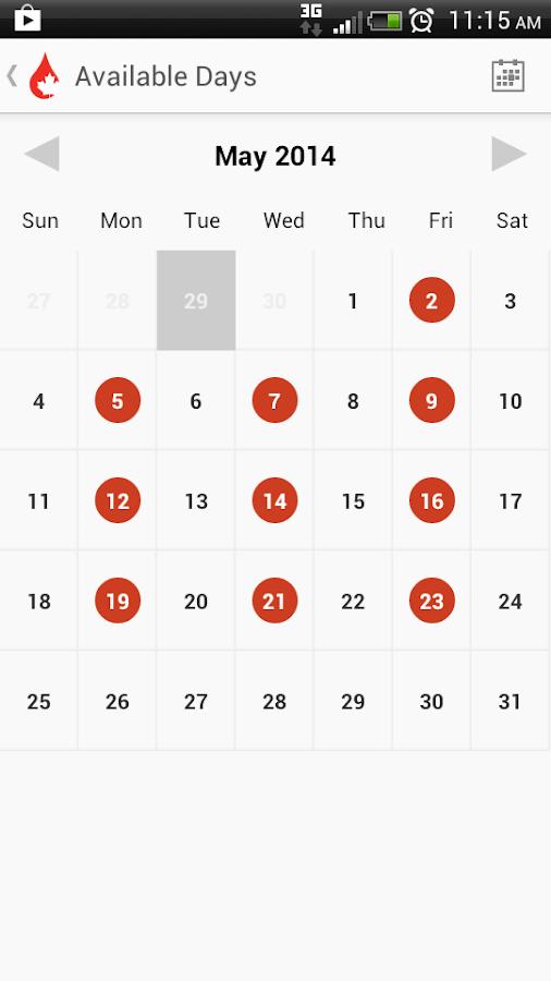 GiveBlood - screenshot
