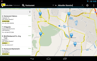 Screenshot of HEROLD mobile by A1