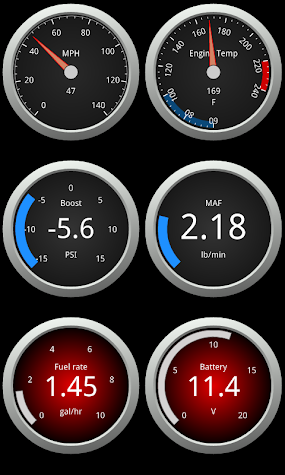 OBDLink (OBD car diagnostics) Screenshot