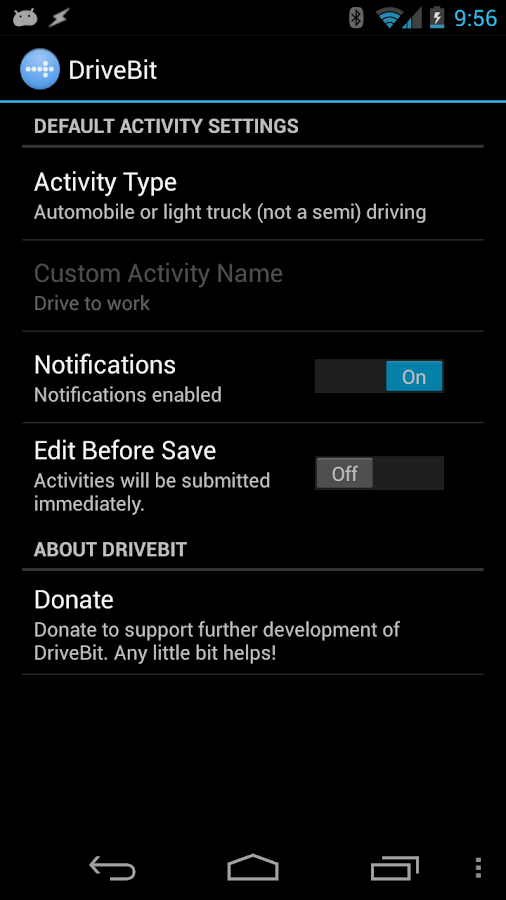 DriveBit - screenshot