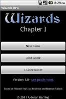 Screenshot of Wizards RPG
