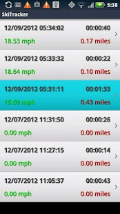 Ski Tracker by 30 South - screenshot thumbnail