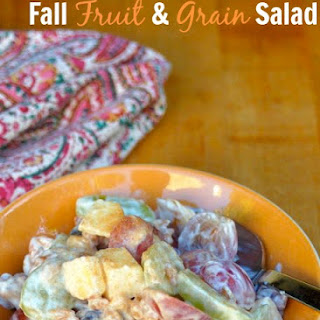 Fall Fruit and Grain Salad