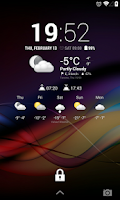 Screenshot of Chronus: Modern Weather Icons
