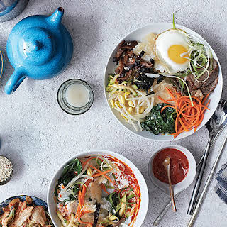 Bibimbap at Home.