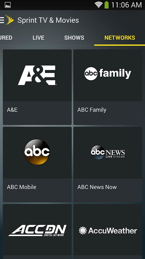 Sprint TV & Movies - screenshot