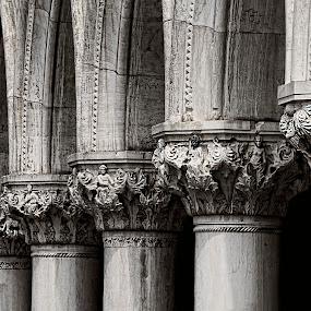 Venetian details by Maya Cvetojevic - Buildings & Architecture Architectural Detail ( details, venice,  )