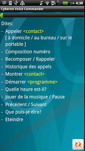 FR-Cyberon Voice Commander