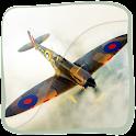 3D Supermarine Spitfire logo