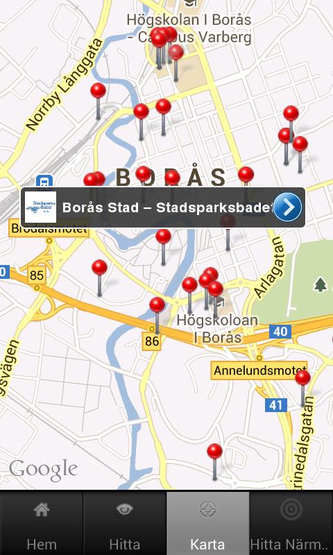 Borås - screenshot