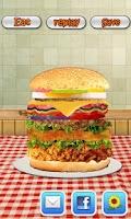 Screenshot of Burger Maker-Cooking game