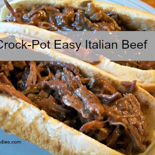 Crock-Pot Easy Italian Beef