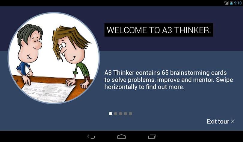 A3 Thinker Screenshot