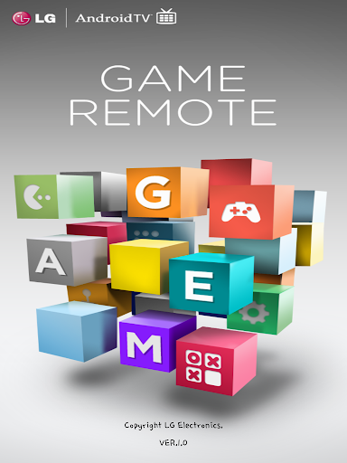 LG Android TV Game Remote