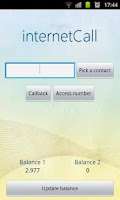 Screenshot of InternetCall