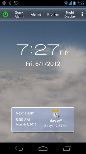 Screenshot for Gentle Alarm in United States Play Store