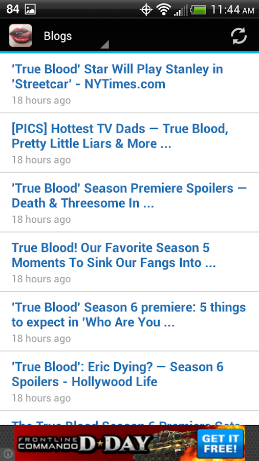 True Blood Fans - screenshot