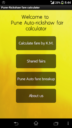 Pune Rickshaw Fare Calculator