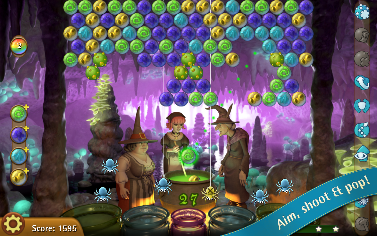 Bubble Witch Saga- screenshot