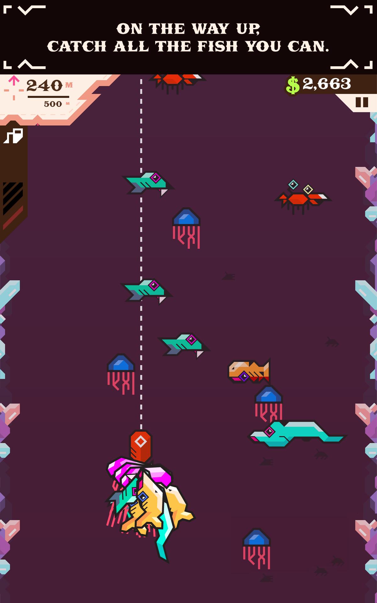 Ridiculous Fishing screenshot #8