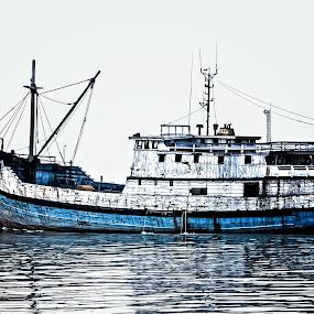 Sailing Boat by Bandar Pak Ustad - Transportation Boats
