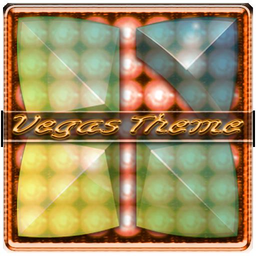 Next Launcher 3D Vegas Theme
