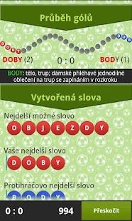Slovní Fotbal 2 - náhled
