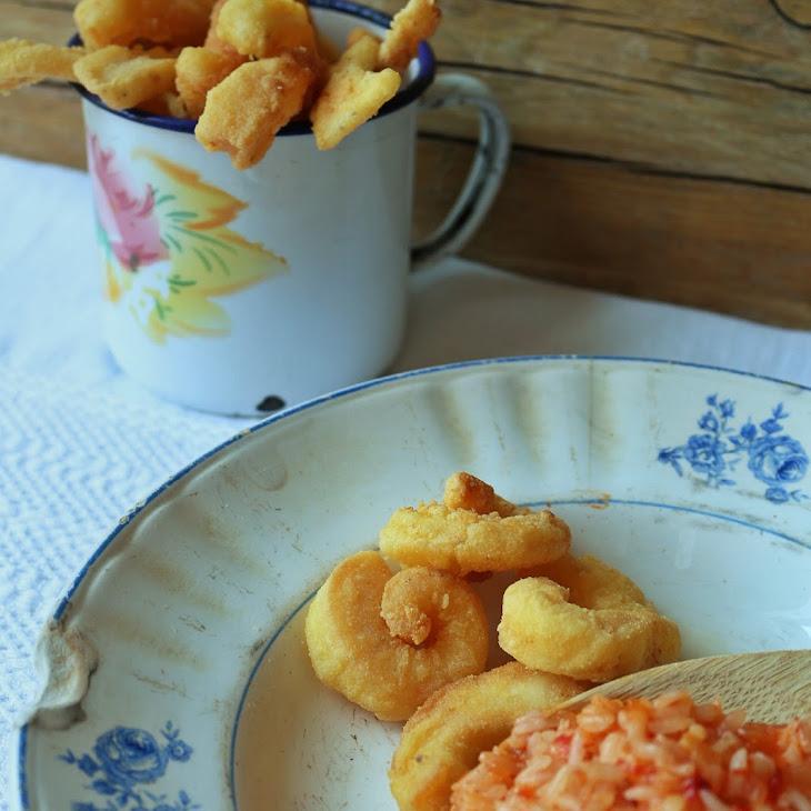 Fried Squid Setubal Style Recipe
