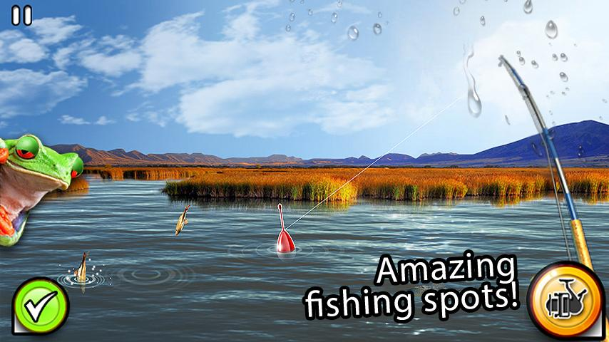 Fishing river monster 2 android apps on google play for River fishing games